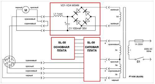 схема паяльной станции SL-